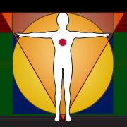 Symbolsk bilde av rosenkorset