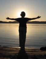Meditasjon i solnegangen